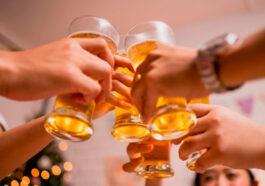 Cervejas na ceia de Ano Novo