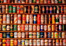 cervejas em lata