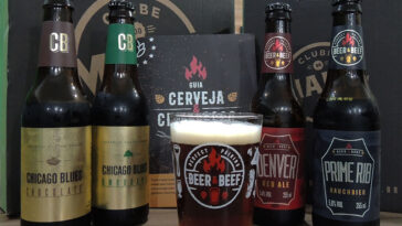 cerveja e churrasco