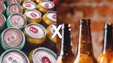 garrafa ou lata